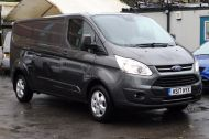 FORD TRANSIT CUSTOM 290/130 LIMITED L2H1 LWB IN MAGNETIC GREY WITH ONLY 23.000 MILES,2.0 130PS EURO 6,AIR CONDITIONING AND MORE - 1239 - 3