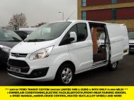 FORD TRANSIT CUSTOM 290/130 LIMITED L1 SWB EURO 6 WITH ONLY 17.000 MILES,2.0 130PS EURO 6,AIR CONDITIONING,PARKING SENSORS AND MORE - 1252 - 2