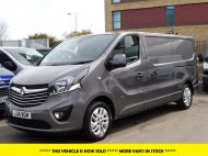 VAUXHALL VIVARO 2900 L2H1 CDTI SPORTIVE IN GREY WITH ONLY 54.000 MILES,AIR CONDITIONING,SAT NAV,ALLOY WHEELS AND MORE *** SOLD *** - 1359 - 1