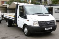 FORD TRANSIT 350/125 E/F 13FT 6 ALLOY DROPSIDE,1 OWNER,6 SPEED MANUAL,TWIN REAR WHEELS AND MORE - 1213 - 9