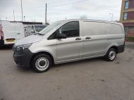 MERCEDES VITO 111 CDI LWB SILVER WITH ONLY 37.000 MILES,AIR CONDITIONING,CRUISE CONTROL,BLUETOOTH,6 SPEED AND MORE - 1696 - 2