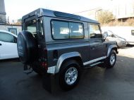 LAND ROVER DEFENDER 90 XS STATION WAGON 2.4 TDCI 120 6 - SPEED IN METALLIC GREY WITH HALF LEATHER AND AIR CONDITIONING , JUST ARRIVED **** £19995 **** - 1297 - 4