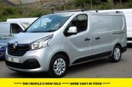 RENAULT TRAFIC SL27 SPORT ENERGY L1H1 SWB DCI IN SILVER WITH ONLY 64.000 MILES,AIR CONDITIONING,SAT NAV,PARKING SENSORS **** SOLD **** - 1282 - 1