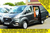 FORD TRANSIT CUSTOM 280/130 LIMITED L1H1 SWB 2.0 TDCI EURO 6 IN MAGNETIC GREY NEW SHAPE MODEL WITH ONLY 18.000 MILES AND MORE - 1437 - 1