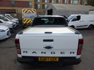FORD RANGER WILDTRAK 4X4 3.2 TDCI 200 AUTOMATIC DOUBLE CAB  ** EURO 6 **IN WHITE WITH ONLY 26000 MILES **** £22995 + VAT **** - 1575 - 4