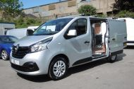 RENAULT TRAFIC SL27 SPORT ENERGY L1H1 SWB DCI IN SILVER WITH ONLY 64.000 MILES,AIR CONDITIONING,SAT NAV,PARKING SENSORS **** SOLD **** - 1282 - 8