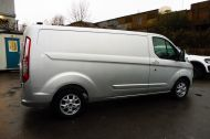 FORD TRANSIT CUSTOM 290 LIMITED L2 H1 125 LWB IN METALLIC SILVER WITH AIR CONDTIONING **** JUST ARRIVED ***** £9995 + VAT  - 1258 - 4