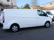 FORD TRANSIT CUSTOM 290/130 LIMITED L2H1 LWB 2.0 130PS EURO 6,IN WHITE WITH AIR CONDITIONING,PARKING SENSORS AND MORE  - 1374 - 23