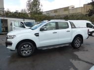 FORD RANGER WILDTRAK 4X4 3.2 TDCI 200 AUTOMATIC DOUBLE CAB  ** EURO 6 **IN WHITE WITH ONLY 26000 MILES **** £22995 + VAT **** - 1575 - 1