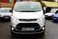 FORD TRANSIT CUSTOM 290/130 LIMITED L1H1 LWB IN SILVER WITH ONLY 21.000 MILES,2.0 130PS EURO 6,AIR CONDITIONING AND MORE - 1261 - 2