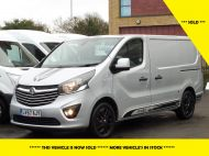 VAUXHALL VIVARO 2700 LIMITED EDITION BI TURBO SPORTIVE L1 SWB IN SILVER WITH ONLY 47.000 MILES,SAT NAV,ALLOY WHEELS AND MORE *** SOLD *** - 1656 - 1