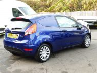 FORD FIESTA VAN 1.5 TDCI WITH AIR CONDITIONING IN DEEP IMPACT BLUE WITH ONLY 54.000 MILES - 1234 - 6