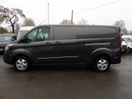 FORD TRANSIT CUSTOM 290/130 LIMITED EURO 6 L2 LWB IN MAGNETIC GREY WITH ONLY 23.000 MILES,2.0 130PS,AIR CONDITIONING **** SOLD **** - 1239 - 22