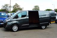 FORD TRANSIT CUSTOM 280/130 LIMITED L1H1 SWB 2.0 TDCI EURO 6 IN MAGNETIC GREY NEW SHAPE MODEL WITH ONLY 18.000 MILES AND MORE - 1437 - 24