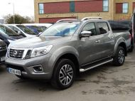 NISSAN NAVARA 2.3 DCI TEKNA EURO 6 4X4 DOUBLE CAB AUTOMATIC PICK UP **** £17995 + VAT **** - 1309 - 1