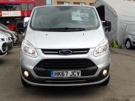 FORD TRANSIT CUSTOM 290 TREND L1H1 SWB IN SILVER 2.0 EURO 6 WITH ONLY 34.000 MILES,FRONT+REAR PARKING SENSORS,ELECTRIC PACK AND MORE  - 1383 - 2